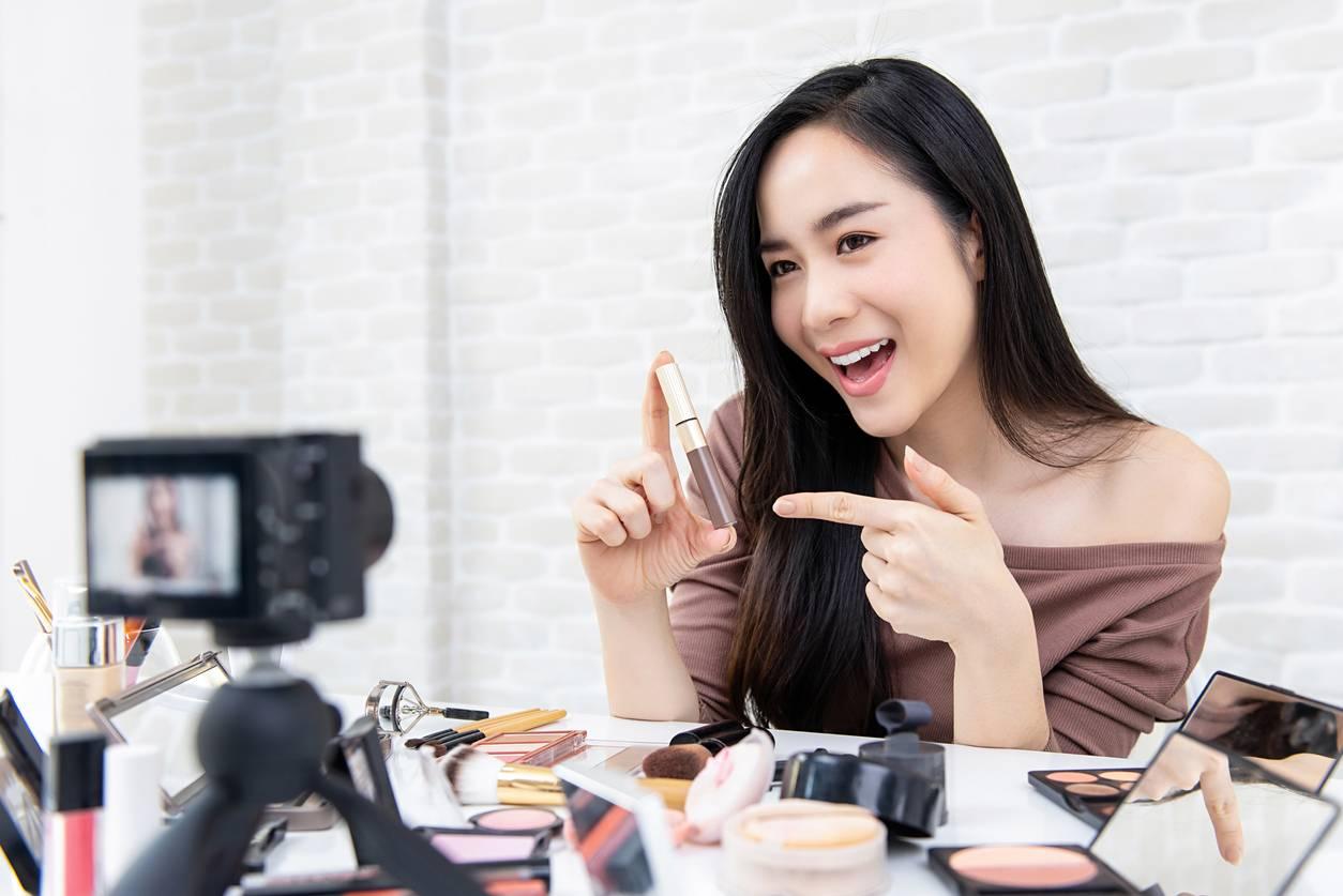 marketing cosmétiques influenceurs